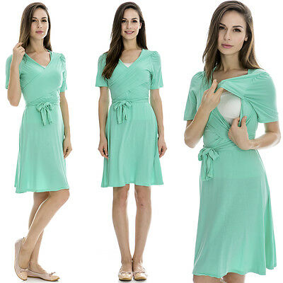 New Arrival Maternity Clothes Breastfeeding Nursing Summer Dress European Style