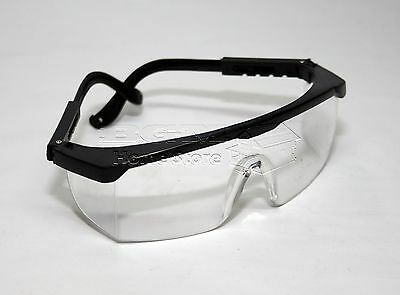 New Clear Lens Protective Safety Glasses Eye Protection Goggles Lab Work Specs