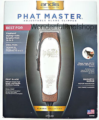 Andis ML 01750 VG Phat Master Hair Clipper Brown
