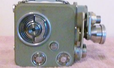VTG 1950'S EUMIG C3 8MM LAND CAMERA IN LEATHER CASE MADE IN AUSTRIA