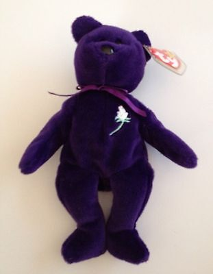 Princess Diana Beanie Baby -No Reserve! Mint Indonesia PVC 1997