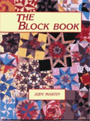 The Block Book by Judy Martin (1998, Paperback)