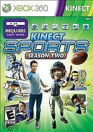 Kinect Sports: Season Two ( Xbox 360, 2011) Brand New Factory Sealed!