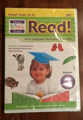 Your baby Can Read! DVD Volume 3_Early Language Development System_Robert Titzer