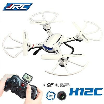 White JJRC H12C 2.4GHz 4CH 6Axis CF Mode RC HD Camera Quadcopter Explorers Hot