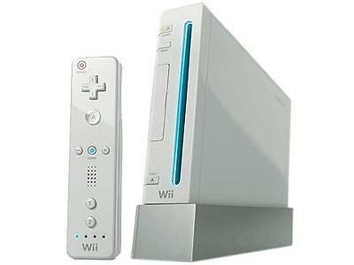 Nintendo Wii White Console with Wii Sports Bundle AND Wii Fit