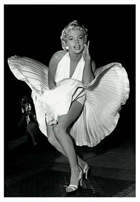 3D Lentiicular Poster- MARILYN MONROE Seven Year Itch- Picture Print 8x10