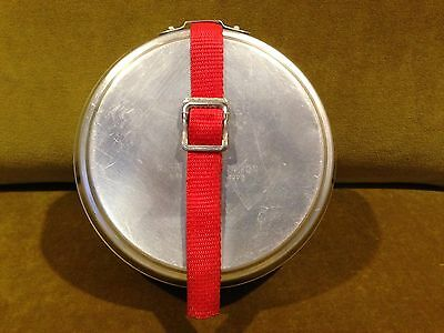 Vintage Mirro Aluminum The Backpacker 6-Piece Compact Camp Mess Kit