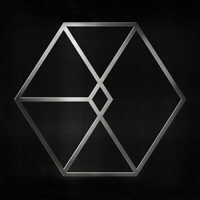 EXO-[Exodus]2nd Album Chinese Ver Silver CD+52p PhotoBook+1p PhotoCard+Gift