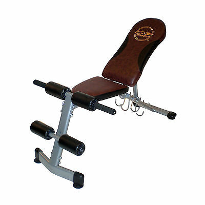 Cap Barbell Fitness FID Workout Bench Weight Exercise Fitness Home Gym NEW