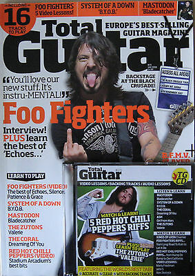 TOTAL GUITAR FOO FIGHTERS MASTODON SYSTEM OF A DOWN ASH ZUTONS THE CORAL SLAYER