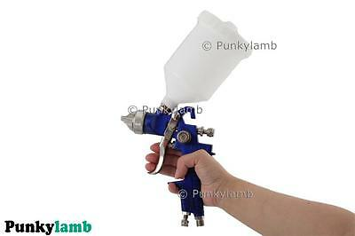Professional Air Gravity Feed HVLP Paint Spray Gun 1.4mm Nozzle Car Garage NEW