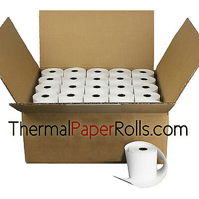 "3 1/8"" x 230' BPA Free PoS Register Thermal Paper  (50 rolls)"