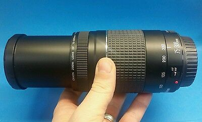 Canon EF 75-300 mm F/4-5.6 III Telephoto Zoom Lens for Canon cameras