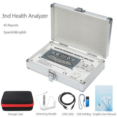 Sub Health Quantum Resonance Magnetic Analyzer 2016 Bio-Electric System Therapy