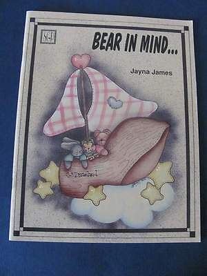 Jayna James Bear in Mind Craft Paint Book #001