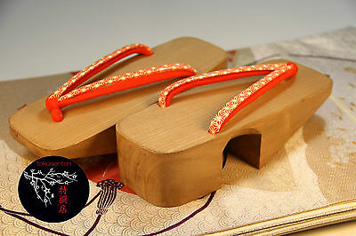 GETA Chaussures Japonaises 230mm HANDMADE Traditional Japanese Shoes NEUF NEW