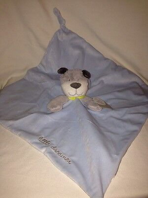 New NWT Carter Blue Puppy Dog Little Dreamer Star Lovey Security Blanket Rattle