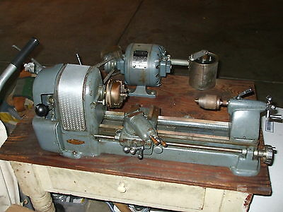 VINTAGE CRAFTSMAN109  LATHE WITH DUNLAP MOTOR PICKUP ONLY NO SHIPPING