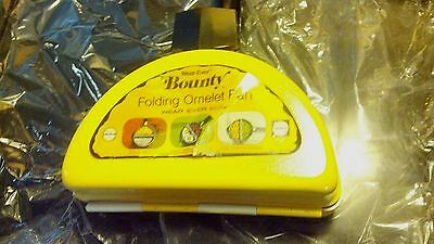 NOS NEW Vintage Wear-Ever Aluminum Double-Sided Camping Pan BOUNTY PORCELAIN