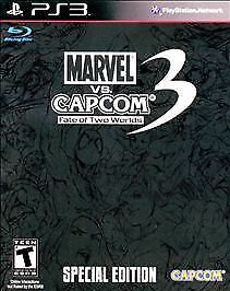 Marvel vs. Capcom 3: Fate of Two Worlds -- Special Edition Playstation 3 New