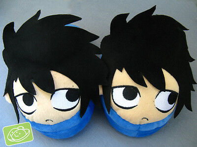 death note L plush indoor slippers house shoes new arrival