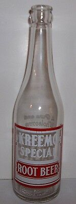 Kreemo Special Root Beer Gooding Cumberland MD. 12 oz ACL Soda
