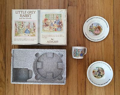 Vintage NEW Wedgwood Little Grey Rabbit and Her Friends Child's Set