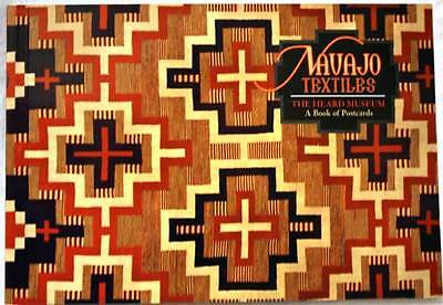Navajo Textiles: The Heard Museum - A Book of Postcards
