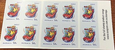 2007 signs of the zodiac Aries stamps  (MUH)
