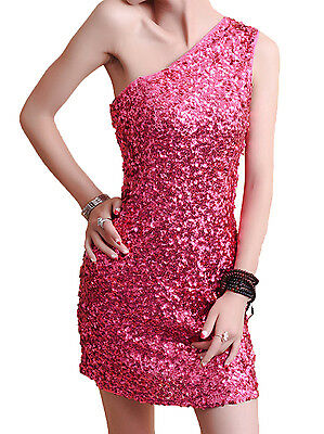 Women's 1920s Vintage Shoulder Off Sequined Glitter Bodycon Gatsby Dress FN1359