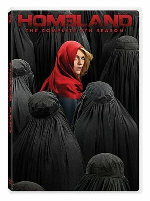 Homeland The Complete Fourth Season 4 (DVD, 2015) New Upon Arrival!