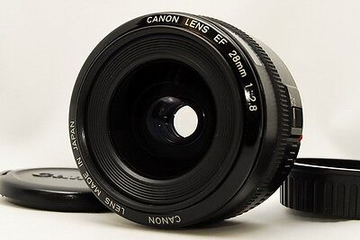 Excellent++ Canon EF 28mm f/2.8 F 2.8 Auto & Manual  Wide angle Lens  from Japan