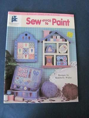 Kimberly Walus Sew much to Paint Art Craft Paint Book #026