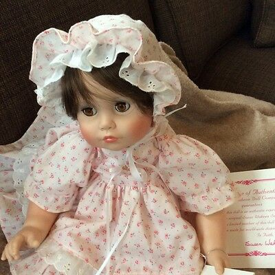 1989  SUSAN WAKEEN Vinyl Limited Edition Baby  Betsy 194/2500