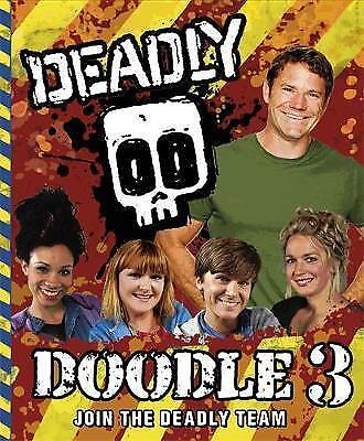 Deadly Doodle Book 3, Backshall, Steve, New Book
