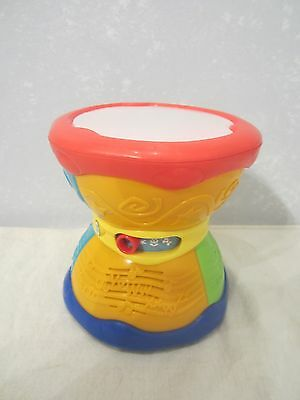 Leap Frog Baby Learn & Groove Alphabet Drum English/Spanish Language Musical