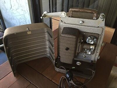 Bell & Howell 253 A 8mm Home Movie Film Projector Vintage