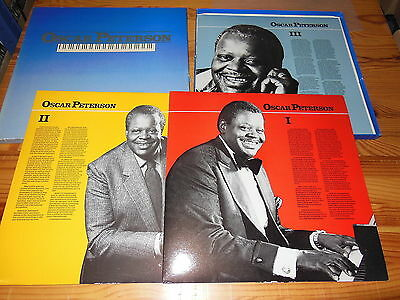 Oscar Peterson - The History Of An Artist / Canada/usa 3-Lp-Box