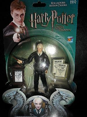 """HARRY POTTER """" RARE  DRACO MALFOY FIGURE""""  Brand New! From Order of the Phoenix"""