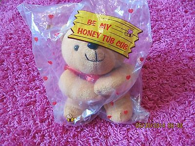 Honey Tub Cub 7' in sealed bag avon brand new ADORABLE!
