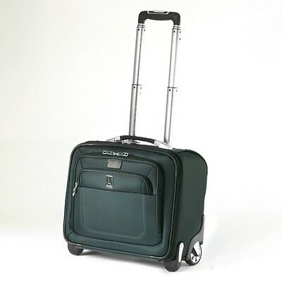 Travelpro Crew8 13 in.Carry-On Rolling Business Tote-Luggage Spruce - MSRP $360