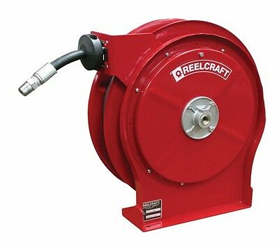 "Reelcraft 5435 OHP Hose Reel 1/4"" x 35ft. 5000 psi for Grease Service with Hose"
