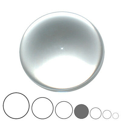 75mm Clear Acrylic Contact Juggling Ball - All Rounder