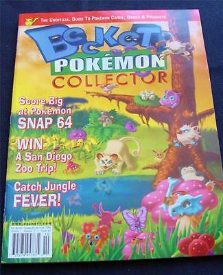 Beckett POKEMON Collector Magazine VOLUME 1 Number 2 Oct. 1999 Mint as made