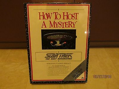 1992 Star Trek ,How To Host A Mystery Board Game Set, Collectible-NEW & SEALED