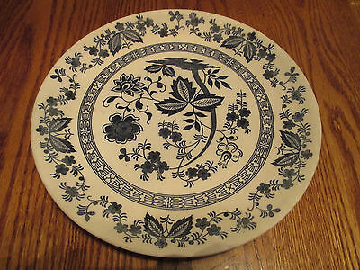 "World Wide Quality Made in Japan Nordic Blue, Lot of one - 10"" Plate"