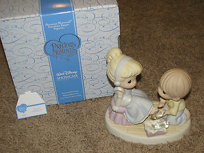 "Disney Precious Moments, CINDERELLA ""Your Love is a Perfect Fit"", MIB (2007)"