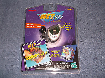 TIGER HIT CLIPS MICRO MUSIC PERSONAL PLAYER W/ BONUS MADONNA RAY OF LIGHT CLIP
