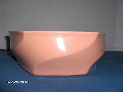 Vintage Napcoware Designed by A. Chen Rose Casserole Dish